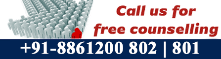 Call Us for Free Counselling at 8861200802/8861200801