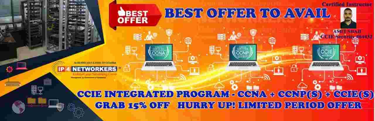 IP4 CCIE Sec. Discount Offer